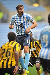 Sam Ricketts Captain Coventry City, Coventry City v Shreswsbury Town FC  Ricoh Arena, Football Sky Bet League One, Saturday 3rd October 2015