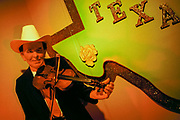 Bob Wills wax statue at The Country Music Wax Museum and the Sidewalk of Fame in Nashville, TN (1999)