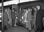 1959 CIE - Continental Press Party on Radio Train