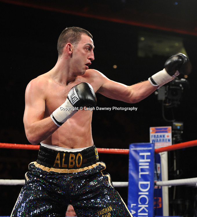 "Joe Selkirk defeats Steve O'Meara at the Echo Arena, Lverpool,11th December 2010,Frank Warren.tv Promotions ""Return Of The Magnificent Seven"" © Photo Leigh Dawney"