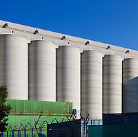 Limassol Cyprus grain silos