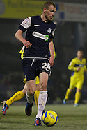Picture by David Horn/Focus Images Ltd +44 7545 970036.11/12/2012.Marc Laird of Southend United during the The FA Cup match at Roots Hall, Southend.