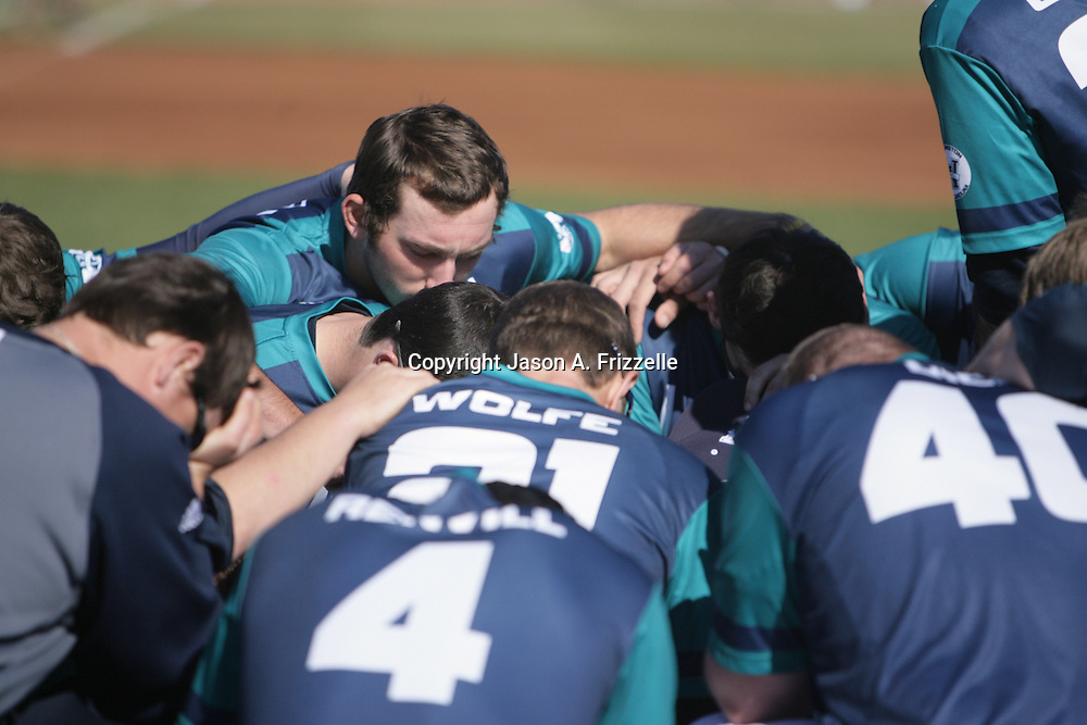 UNCW faced Virginia in the Hughes Brothers Challenge Sunday February 16, 2014. (Jason A. Frizzelle)