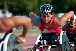 SCHAER Manuela, SUI, 5000m, T54, 2013 IPC Athletics World Championships, Lyon, France