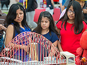 "Families participate in the Houston ISD ""When I Grow Up"" festival, April 11, 2015."