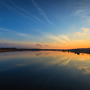 Narrow River Sunset Narragansett, RI,  December  2, 2013. #rhodeisland #sunset #landscape