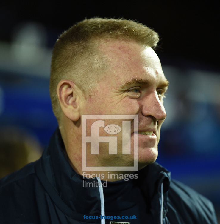 Dean Smith of Brentford during the Sky Bet Championship match at the Loftus Road Stadium, London<br /> Picture by Simon Dael/Focus Images Ltd 07866 555979<br /> 27/11/2017