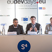 04 June 2015 - Belgium - Brussels - European Development Days - EDD - Migration - Migration , environment and climate change - Evidence for policy © European Union
