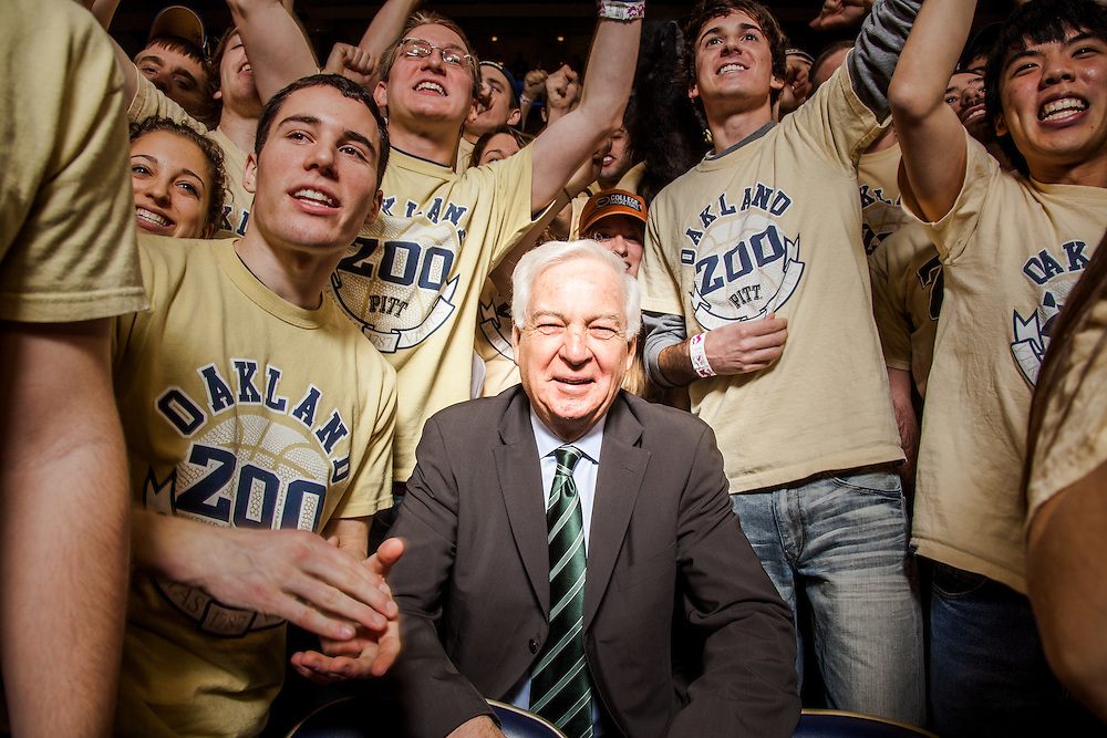 Bill Raftery is a college basketball announcer and analyst. He was pictured at the University of Pittsburgh in Pittsburgh, Pa., before working the Pitt vs. Notre Dame game for ESPN on Monday, January 24, 2011.