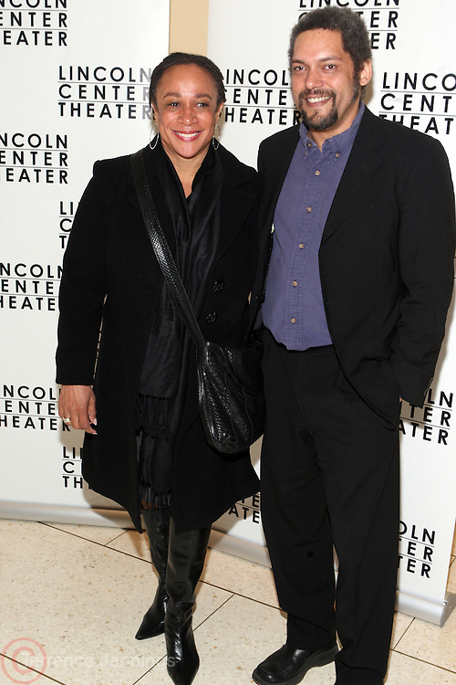 18 November 2010-New York, NY- l to r: S.Epatha Merkerson and Malachi Weir at John Guare's ' A Free Man of Color ' Opening Night Party on November 18, 2010 held at Avery Fischer Hall in Lincoln Center in New York City. Photo Credit: Terrence Jennings
