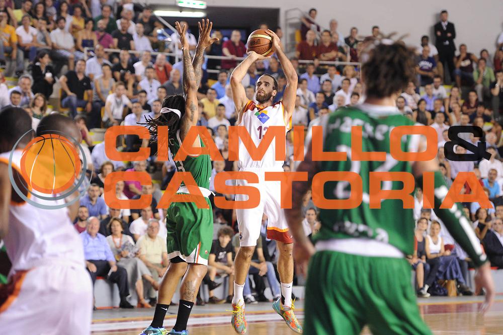 DESCRIZIONE : Roma Lega A 2012-2013 Acea Roma Montepaschi Siena playoff finale gara 5<br /> GIOCATORE : Luigi Datome<br /> CATEGORIA : tiro<br /> SQUADRA : Acea Roma Montepaschi Siena<br /> EVENTO : Campionato Lega A 2012-2013 playoff finale gara 5<br /> GARA : Acea Roma Montepaschi Siena<br /> DATA : 19/06/2013<br /> SPORT : Pallacanestro <br /> AUTORE : Agenzia Ciamillo-Castoria/C.De Massis<br /> Galleria : Lega Basket A 2012-2013  <br /> Fotonotizia : Roma Lega A 2012-2013 Acea Roma Montepaschi Siena playoff finale gara 5<br /> Predefinita :