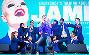 West End Live 2018 <br /> Trafalgar Square, London, Great Britain <br /> 16th June 2018 <br /> <br /> Excerpts from West End musicals perform live on stage in Trafalgar Square, London <br /> <br /> EVERYBODY&rsquo;S TALKING ABOUT JAMIE