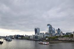 London City skyline, April 2019 UK