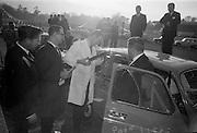 17/3/1966<br /> 3/17/1966<br /> 17 March 1966<br /> <br /> Mr. O'Sullivan of Limerick in the Renault 4L Economy Run Contest