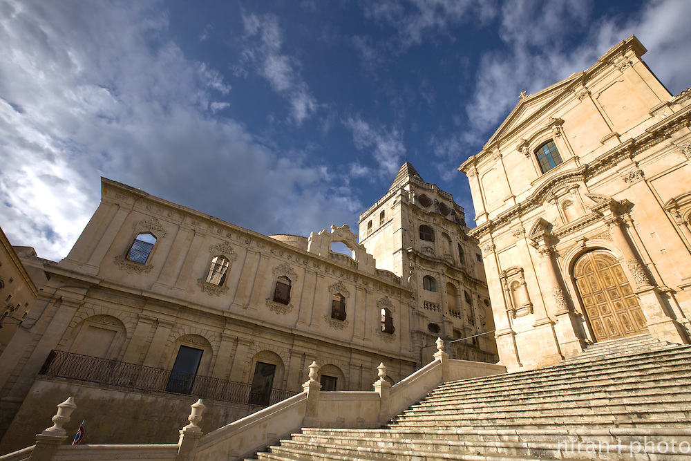 San Francesco d'Assisi all'Immacolata at the center of Noto
