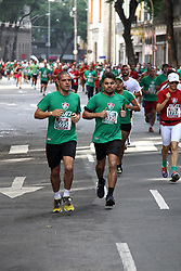 November 12, 2017 - Brazil - RIO DE JANEIRO, RJ - 12.11.2017: FLUMINENSE RUN - Fluminense Run, the first official street race of the Tricolor Club. This Sunday (12) through the streets of the Marvelous City Center, with departure and arrival in Plaza Mau(Credit Image: © Fotoarena via ZUMA Press)