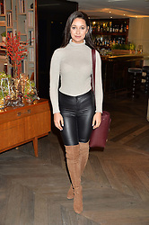 LONDON, ENGLAND 2 DECEMBER 2016: <br /> Roxie Nafousi at a breakfast attended by a host of influencers, press and VIPs to celebrate the official launch of EVARAE the new British luxury resort wear brand, held at The Hari Hotel, 20 Chesham Place, London.  England. 2 December 2016.