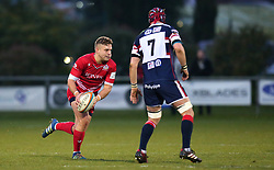 Ian Madigan of Bristol Rugby runs with the ball - Mandatory by-line: Robbie Stephenson/JMP - 02/12/2017 - RUGBY - Castle Park - Doncaster, England - Doncaster Knights v Bristol Rugby - Greene King IPA Championship