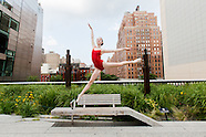 Dancers on the High Line