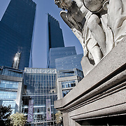 View at Columbus Circle with the Time Warner Center
