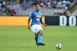 September 17, 2017 - Naples, Naples, Italy - Faouzi Ghoulam of SSC Napoli during the Serie A TIM match between SSC Napoli and Benevento Calcio at Stadio San Paolo Naples Italy on 17 September 2017. (Credit Image: © Franco Romano/NurPhoto via ZUMA Press)