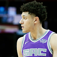 12 October 2017: Sacramento Kings forward Justin Jackson (25) is seen during the LA Clippers 104-87 victory over the Sacramento Kings, at the Staples Center, Los Angeles, California, USA.