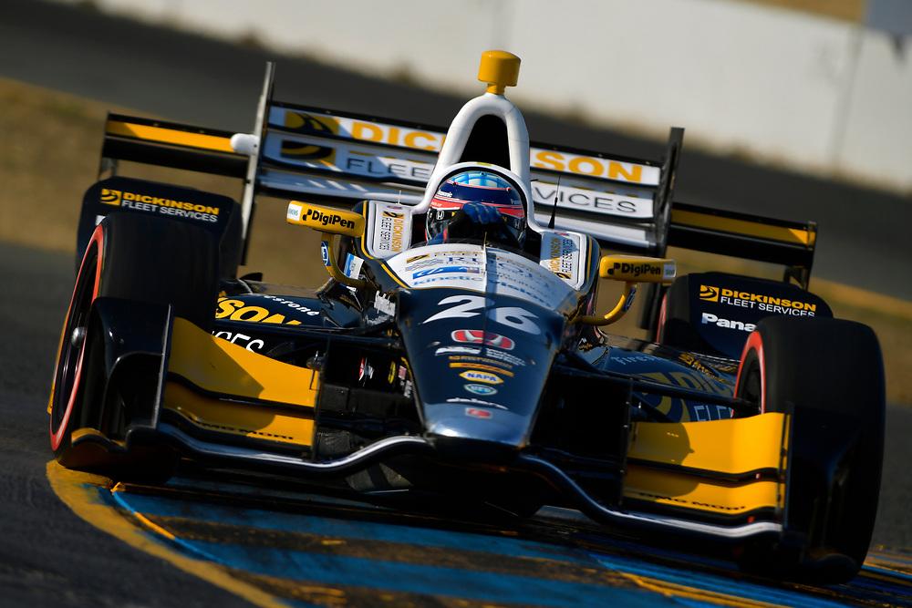 Verizon IndyCar Series<br /> GoPro Grand Prix of Sonoma<br /> Sonoma Raceway, Sonoma, CA USA<br /> Saturday 16 September 2017<br /> Takuma Sato, Andretti Autosport Honda<br /> World Copyright: Scott R LePage<br /> LAT Images<br /> ref: Digital Image lepage-170916-son-10632