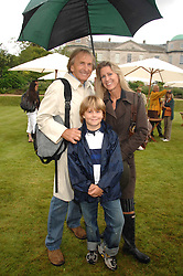 DEREK & MISTI BELL with their son SEBASTIAN at the Cartier Style Et Luxe at the Goodwood Festival of Speed, Goodwood House, West Sussex on 24th June 2007.<br />