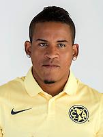 """Mexico League - BBVA Bancomer MX 2014-2015 -<br /> Aguilas - Club de Futbol America / Mexico - <br /> Michael Antonio Arroyo Mina """" Michael Arroyo """""""