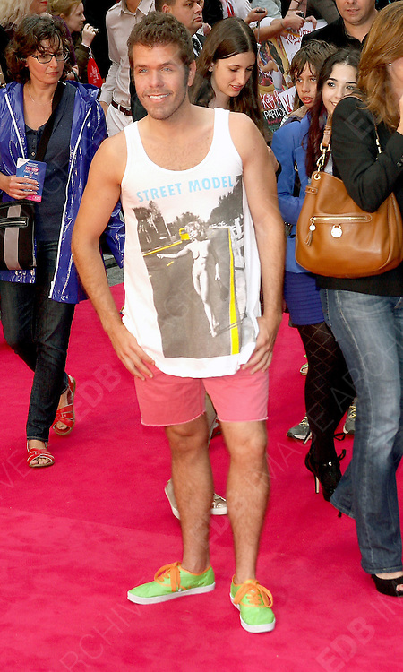 03.JULY.2012. LONDON<br /> <br /> PEREZ HILTON ATTENDS THE UK PREMIERE OF KATY PERRY PART OF ME 3D AT THE EMPIRE CINEMA, LEICESTER SQUARE.<br /> <br /> BYLINE: EDBIMAGEARCHIVE.CO.UK<br /> <br /> *THIS IMAGE IS STRICTLY FOR UK NEWSPAPERS AND MAGAZINES ONLY*<br /> *FOR WORLD WIDE SALES AND WEB USE PLEASE CONTACT EDBIMAGEARCHIVE - 0208 954 5968*