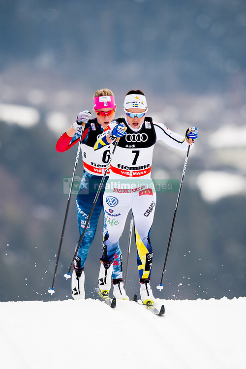 January 6, 2018 - Val Di Fiemme, ITALY - 180106 Anna Haag of Sweden competes in women's 10km mass start classic technique during Tour de Ski on January 6, 2018 in Val di Fiemme..Photo: Jon Olav Nesvold / BILDBYRN / kod JE / 160122 (Credit Image: © Jon Olav Nesvold/Bildbyran via ZUMA Wire)