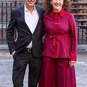 NLD/Den Haag/20180918 - Prinsjesdag 2018, Ingrid van Engelshoven en partner .......