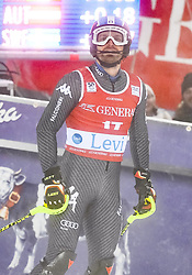 13.11.2016, Black Race Course, Levi, FIN, FIS Weltcup Ski Alpin, Levi, Slalom, Herren, 2. Lauf, im Bild Manfred Moelgg (ITA) // Manfred Moelgg of Italy  reacts after his 2nd run of mens Slalom of FIS ski alpine world cup at the Black Race Course in Levi, Finland on 2016/11/13. EXPA Pictures © 2016, PhotoCredit: EXPA/ Nisse Schmidt<br /> <br /> *****ATTENTION - OUT of SWE*****