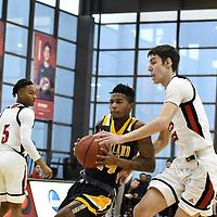 Men's Basketball: Illinois Tech Scarlet Hawks host Lakeland University Muskies at Keating Sports Center in Chicago, IL. Dean Reid/D3Photography