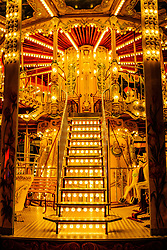 Detail of a carousel in Reims, France<br /> <br /> (c) Andrew Wilson | Edinburgh Elite media