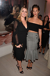 Lady Kitty Spencer and Renee Stewart at the Tatler's English Roses 2017 party in association with Michael Kors held at the Saatchi Gallery, London England. 29 June 2017.<br /> Photo by Dominic O'Neill/SilverHub 0203 174 1069 sales@silverhubmedia.com