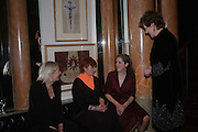 Vanessa Redgrave, Thelma Holt, Annabel Clark and Lynn Redgrave. book party 'Journal' A Mother & Daughter's Recovery from Breast Cancer' by Lynn Redgravewith photographs by her daughter Annabel Clark.  The Theatre Museum, Russell Street, London. 8th March 2005. ONE TIME USE ONLY - DO NOT ARCHIVE  © Copyright Photograph by Dafydd Jones 66 Stockwell Park Rd. London SW9 0DA Tel 020 7733 0108 www.dafjones.com