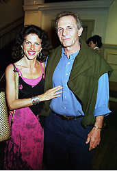MR & MRS MARK SHAND he is the brother of Camilla Parker<br />  Bowles at a party in London on 13th June 2000.OFD 60<br /> © Desmond O'Neill Features:- 020 8971 9600<br />    10 Victoria Mews, London.  SW18 3PY <br /> www.donfeatures.com   photos@donfeatures.com<br /> MINIMUM REPRODUCTION FEE AS AGREED.<br /> PHOTOGRAPH BY DOMINIC O'NEILL