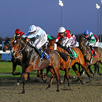 Trip Switch and Jamie Spencer winning the 4.20 race