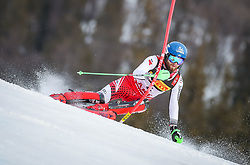 17.02.2019, Aare, SWE, FIS Weltmeisterschaften Ski Alpin, Slalom, Herren, 1. Lauf, im Bild Marco Schwarz (AUT) // Marco Schwarz of Austria in action during his 1st run of men's Slalom of FIS Ski World Championships 2019. Aare, Sweden on 2019/02/17. EXPA Pictures © 2019, PhotoCredit: EXPA/ Johann Groder