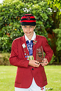 MVP, Matthew Hocquard of Huntley School after the National Primary School Cup Final, Bert Sutcliffe Oval, Lincoln, New Zealand, 16th November 2018.Copyright photo: John Davidson / www.photosport.nz