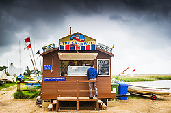 The Crab Hut at Brancaster Staithe. Norfolk