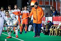 ROTTERDAM - bondscoach Max Caldas (NED)    during  the Pro League hockeymatch men, Netherlands- Germany (0-1). )  WSP COPYRIGHT  KOEN SUYK