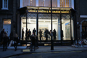 Andreas Gursky.Spruth Magers Gallery. Grafton St. London. 22 March 2007.   -DO NOT ARCHIVE-© Copyright Photograph by Dafydd Jones. 248 Clapham Rd. London SW9 0PZ. Tel 0207 820 0771. www.dafjones.com.