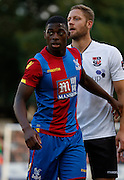 Sullay Kai Kai in action during the Pre-Season Friendly match between Bromley and Crystal Palace at the Courage Stadium, Bromley, United Kingdom on 30 July 2015. Photo by Michael Hulf.