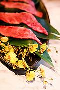 Beef tongue at Tsurugyu restaurant.