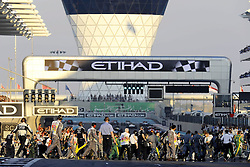 13.11.2011, Yas-Marina-Circuit, Abu Dhabi, UAE, Grosser Preis von Abu Dhabi, im Bild Abu Dhabi F1 Grand Prix Impressions  // during the Formula One Championships 2011 Large price of Abu Dhabi held at the Yas-Marina-Circuit, 2011/11/13. EXPA Pictures © 2011, PhotoCredit: EXPA/ nph/ Dieter Mathis..***** ATTENTION - OUT OF GER, CRO *****