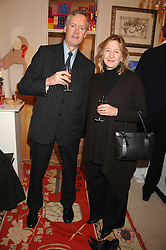 TIM & SOPHIE PALMER at a sale of pictures and gifts at Kitty Arden's home in Chelsea, London on 29th November 2007.<br /><br />NON EXCLUSIVE - WORLD RIGHTS