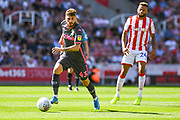 Leeds United midfielder Mateusz Klich (43) during the EFL Sky Bet Championship match between Stoke City and Leeds United at the Bet365 Stadium, Stoke-on-Trent, England on 24 August 2019.