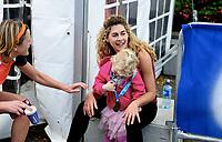 Fridrettt , 16. september 2017 , Oslo Maraton<br /> Cecilie Skog  og datteren. Skog er en norsk fjellklatrer og ekspedisjonsfarer som er kjent for sine turer til Mount Everest, Sydpolen og Nordpolen